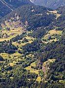 Prados de siega y bordas de Lisier - Cinqueta de Añes Cruces - Valle de Gistaín - Sobrarbe - Huesca - Pirineo Aragonés - Aragón - España