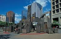 Canada, Vancouver, urban park space ...