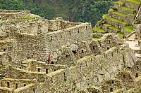 Peru, Machu Picchu Incas ruins