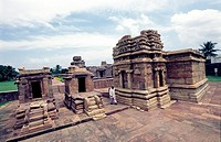 Temples in Durga Complex, Aihole, karnataka Aihole, a tranquil village on the banks of the Malaprabha River, is acclaimed as the cradle of Hindu templ...