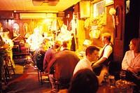 Ireland, Dublin. Music Slattery's pub
