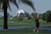 Arab Emirates, Dubai. Golf Club