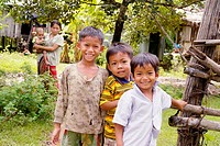 Children of Kamphun village, Stung Treng district, Cambodia