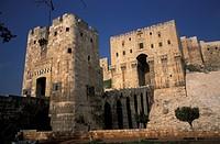 Syria, Aleppo. Citadel