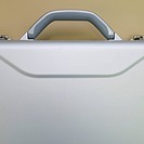Silver Briefcase Detail