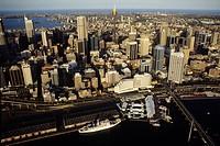 Australia, Sydney, aerial view