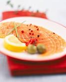seafood, smoked salmon dish