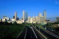 USa, Georgia, Atlanta skyline