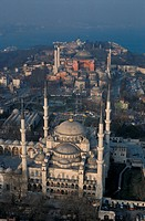 Turkey, Istanbul,Blue Mosque and St.Sophia