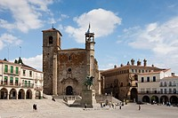 Spain, summer 2010,Extremadura Region,Trujillo City,Mayor Square.