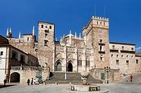 Spain, summer 2010,Extremadura Region,Guadalupe City,Guadalupe Monastery UNESCO.