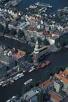 Netherlands, Amsterdam, Tower of Montlebann
