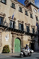 City Hall, Baroque, Alicante, Spain