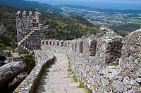 Dos Moros Castle, Sintra, UNESCO World Heritage Site  Lisboa district  Portugal