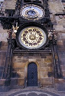 Europe, Czech Republic, Prague, old town, astronomical clock
