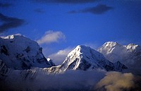 Nepal, Annapurna region. Annapurna south
