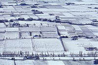 Lombardy, Pianura Padana, in winter