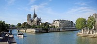 France, Paris, Notre-Dame Cathedral