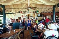 British Virgin Island, Tortola, Nanny Cay marina bar