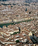 Tuscany, Florence aerial view