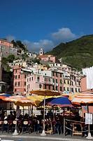 Italy, Liguria, Cinque Terre, Vernazza Village