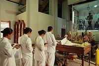Brahamanic Ceremony, Bangkok, Thailand
