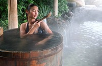 Hot Spring Pool at the Brilliant Resort & Spa in Kunming, Yunnan Province, China