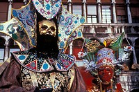 Italy, Venice The Carnival Masks