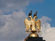 Russia, Moscow, double_headed eagle
