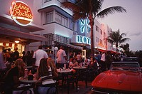 USA, Florida, Miami Beach, South Beach, Ocean Drive,