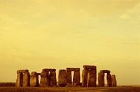 Morning Light _ Stonehenge _ Nearby Salisbury _ Wiltshire _ Great Britain