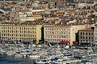 Europe, France, Provence, Marseilles, old harbour