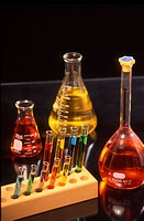 Chemistry flasks and tubes