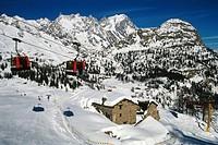Italy, Valle D´Aosta, Courmayeur