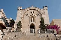 Israel, Jerusalem, church in Mamilla District