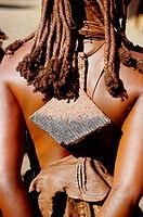 Africa, Namibia, Himba woman
