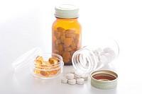 Medicine and jars
