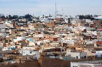 Tunisia, Tunisian Central Coast, Sousse, elevated view of the Medina