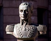 Spain. Bilbao. BOLIVAR Simon 1783-1830, hero of independance in South America ´El Liberador´ was president of Peru, Columbia, Venezuela and of the Gre...