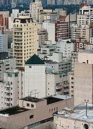 People, man, building, São Paulo, Brazil