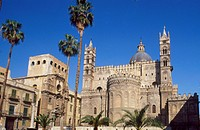 Italy, Sicily, Palermo. the Cathedral