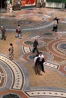Italy, Lombardy, Milan. Galleria Vittorio Emanuele