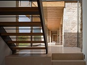 Mclean Quinlan Architects date 09/2009 Interior of corridor through stair to exterior