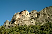 Greece, Meteora, Convent of San Nicola