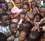 Africa, Burundi, Masango, schoolchildren