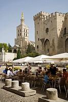 France, Provence, Vaucluse, Avignon,Palais des Papes