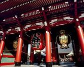 Hozomon of Sensoji Temple, Taito, Tokyo, Japan
