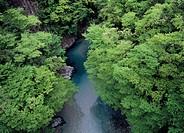Tsukechi Gorge, Nakatsugawa, Gifu, Japan