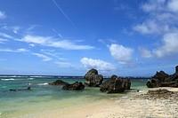 Beach of Okinoerabushima, Wadomari, Oshima, Kagoshima, Japan