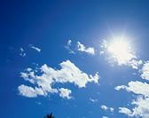 Sun And Cloud, Okinawa, Japan